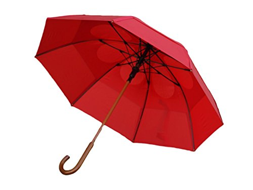 GustBuster Classic 48-Inch Automatic Golf Umbrella (Red)
