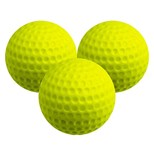 LONGRIDGE Distance Golf Ball (6Stück), gelb