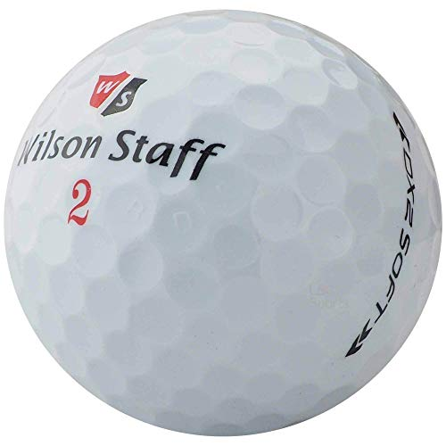 lbc-sports 50 Wilson DX2 / Duo Soft Golfbälle - AAAAA - weiß - Lakeballs - PremiumSelection - gebrauchte Golfbälle - DX 2 WIE NEU
