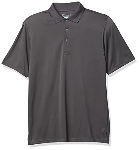 PGA TOUR Herren Airflux Golf-Polo-Shirt, kurzärmelig - Grau - XX-Large