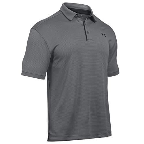 Under Armour Poloshirt Tech Polo, Grau, LG, 1290140-040, Schwarz (Graphite/Black/Black (040)), L