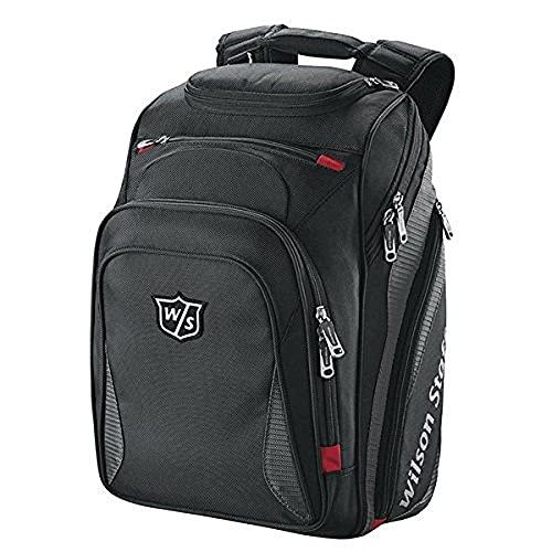 Wilson Staff Golf Rucksack, Brief Pack, schwarz, WGB5001BL