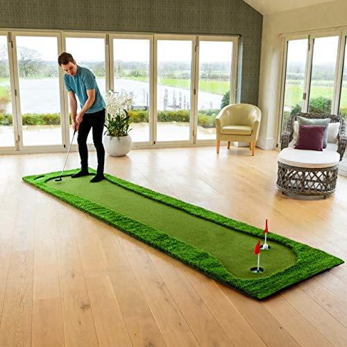 FORB Professionelle Puttingmatte – Standard 3,7m x 0,98m oder Größe XL 4m x 2m – Eine Golf Puttingmatte für den Innen- und Außenbereich. (Standard)