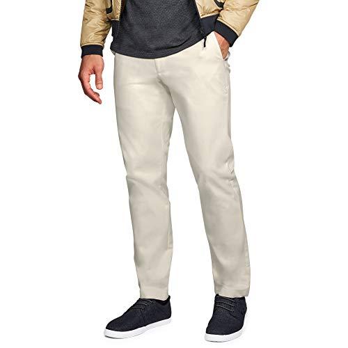 Under Armour Herren Showdown Chino Taper Hose, Herren, Men's Showdown Chino Tapered Pants, Stone (279)/Stone, 32W x 32L