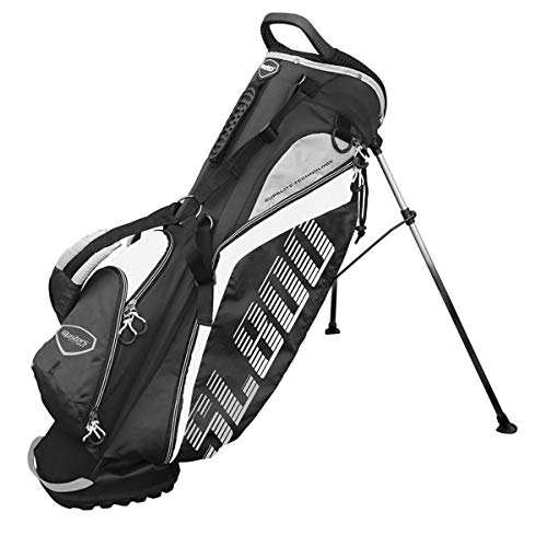 Masters Golf - SL800 Supalite Standbag Black/White
