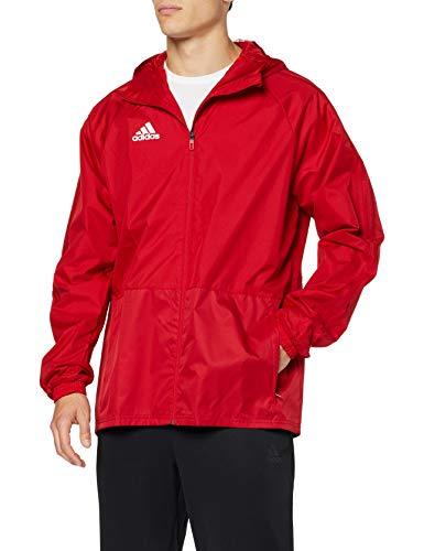 adidas con18Rain JKT–Jacke, Herren, Rot (rojpot/weiß)