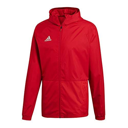 Adidas con18Rain Jkt–Jacke, Herren, rot(POWRED/WHITE), XL