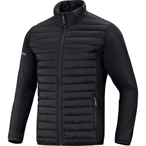 JAKO Herren Sonstige Jacke Hybridjacke Premium, schwarz, XL, 7004