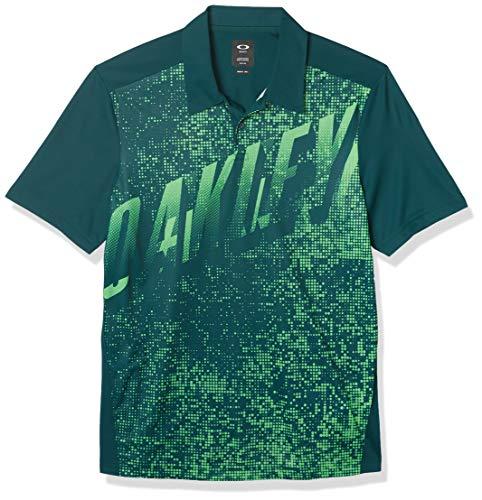 Oakley Herren Spirit Polo Golf-T-Shirt, weiß, X-Groß