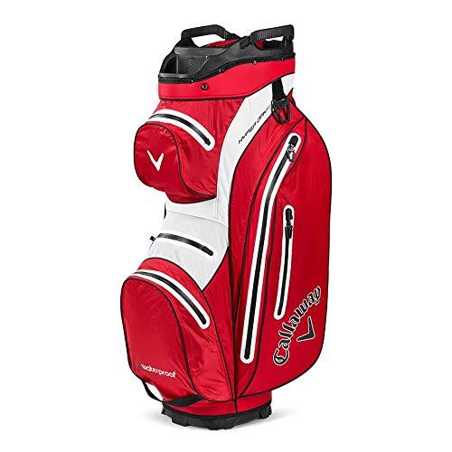 Callaway golf bags Hyper Dry 15 Einkaufstasche, Rot/Weiß/Schwarz, One Size