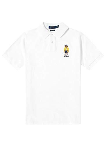 Polo Polo Ralph Lauren Bär Weiß Herren, Weiß XXL