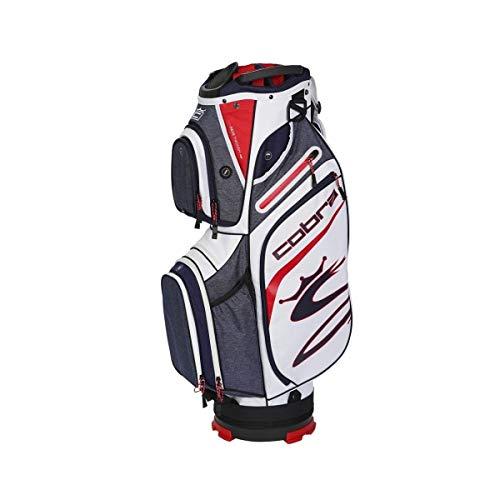COBRA Ultralight Cart Bag Navy/rot/weiß