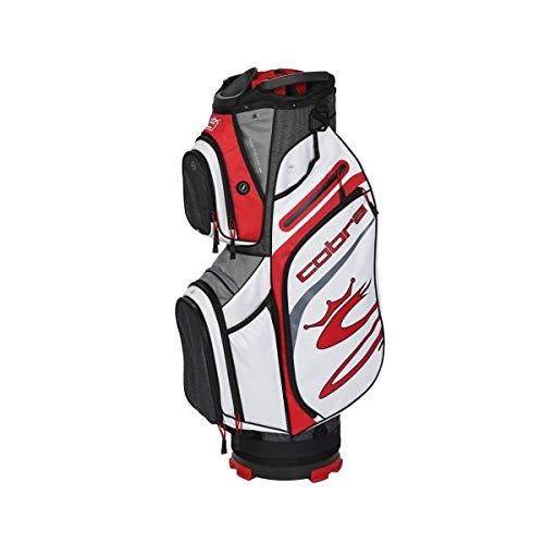COBRA Ultralight Cart Bag schwarz/rot/weiß