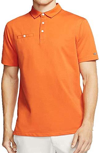 Nike Dry Victory Solid Golf Polo Shirt Hemd Men Herren Orange BV0468 847, Größen:Gr L 52/54