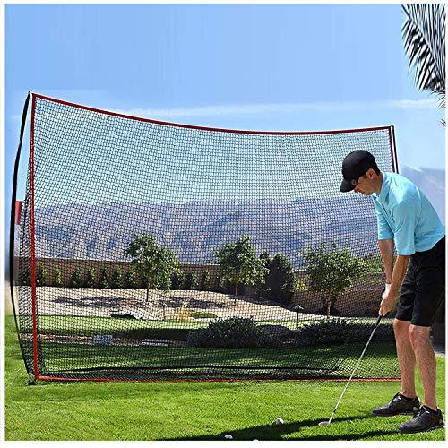 Qdreclod Golf Schlagnetze Golf Trainingshilfe Tragbares Golfnetz Garten Golfnetz Tragetasche Wird enthalten Golf Übungsnetz für Hinterhoffahren Indoor Outdoor Golfübungsgeräte 3m x 2,13m