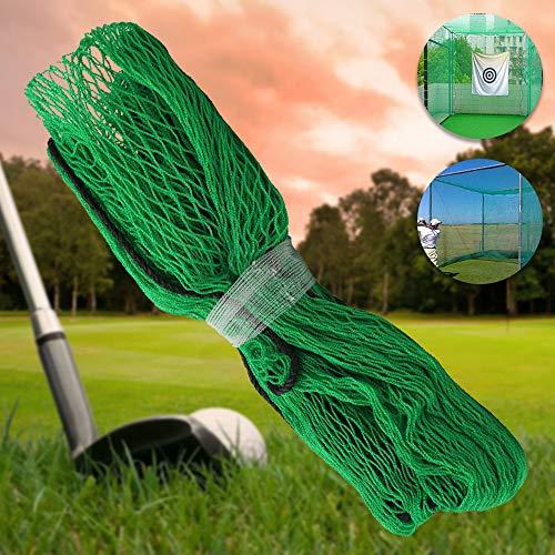 Relax love Golf Übungsnetz Golf Practice Net (3m x 3m) Golf Netz Tragbares Golfnetz Outdoor Golf Fangnetz Golf Trainingsgeräte Golf Netz Garten Golf Barrier Net