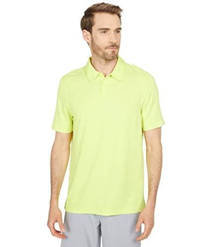 Oakley Herren AERO Ellipse Polo 2.0 Golf-T-Shirt, Sunny Lime, Klein