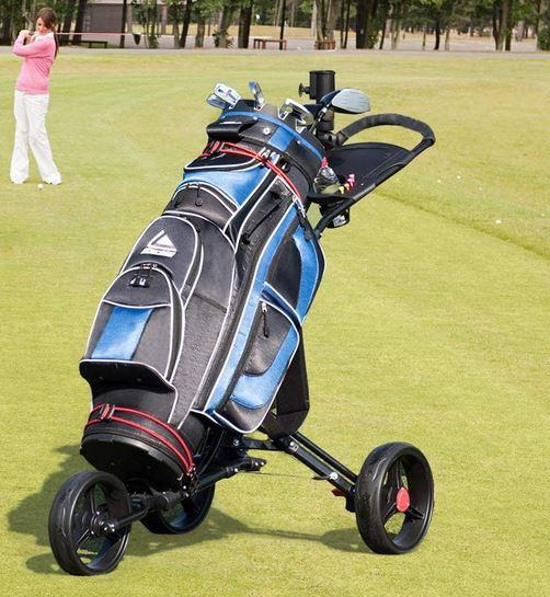 elektrischer Golftrolley mit Akku