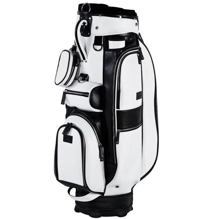 Golfbag Cartbag Jucad Sydney schwarz-weiß