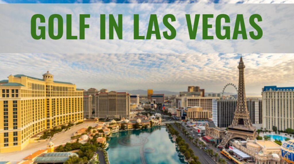 Golfplatz in Las Vegas